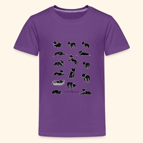 Frenchie - T-shirt Premium Ado