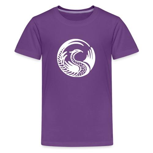 Fabelwesen weiss - Teenager Premium T-Shirt