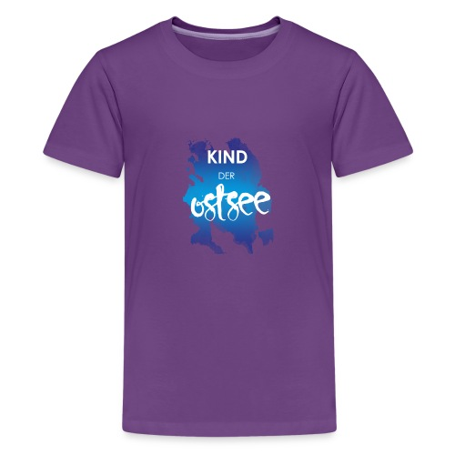 Kind der Ostsee - Teenager Premium T-Shirt