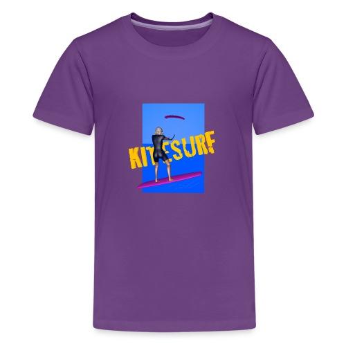 KITESURF FEMME - T-shirt Premium Ado