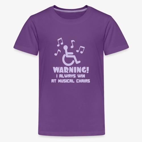 > Stoelen dans voor rolstoel gebruikers - Teenager Premium T-shirt