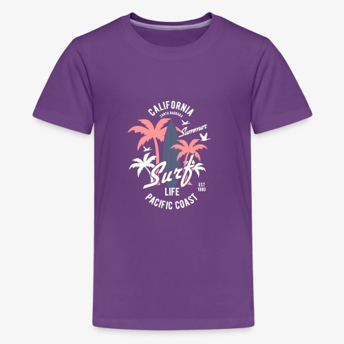 California Surf - T-shirt Premium Ado