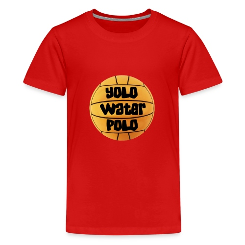 YoloWaterPolo png - Teenager Premium T-shirt