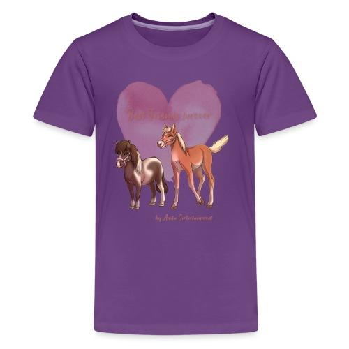BFF Porzellinchen & Wunschtraum - Teenager Premium T-Shirt