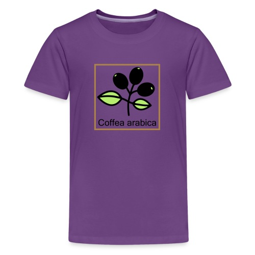 Coffea arabica - Teenager Premium T-Shirt