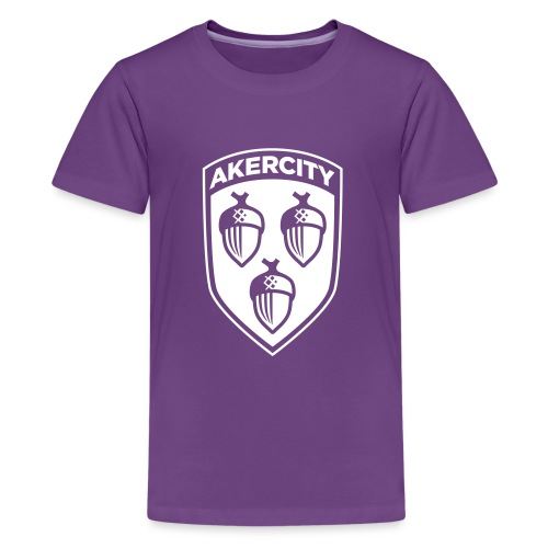 Akercity Schild 1 Kleur B - Teenager Premium T-shirt