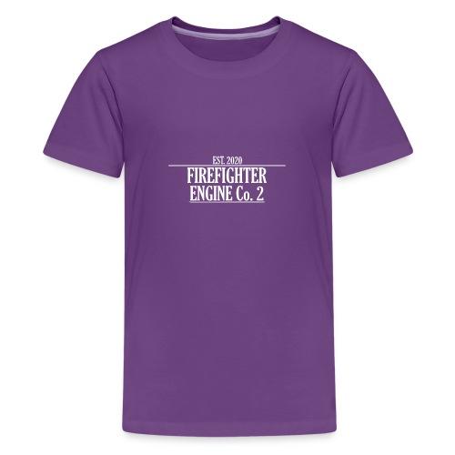 Firefighter ENGINE Co 2 - Teenager premium T-shirt