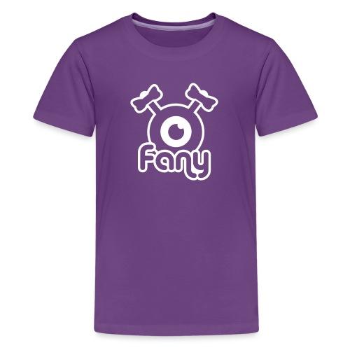 Fany Label (White) - T-shirt Premium Ado
