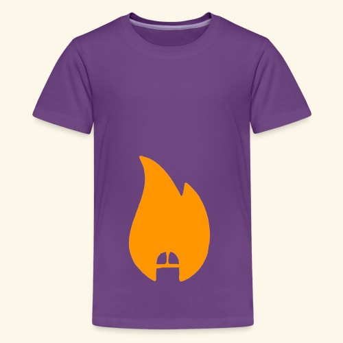 dicksonfire.png - Teenage Premium T-Shirt