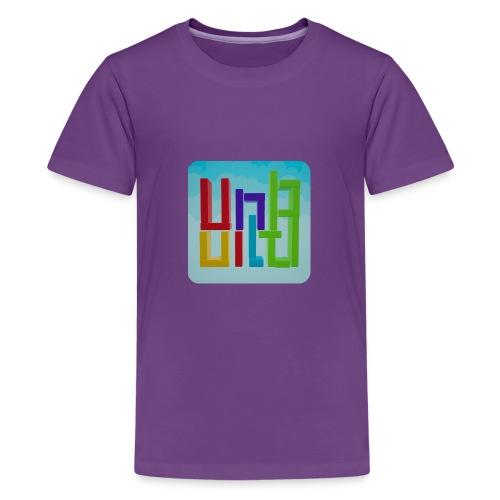 UnBuild App Icon - Teenager Premium T-Shirt