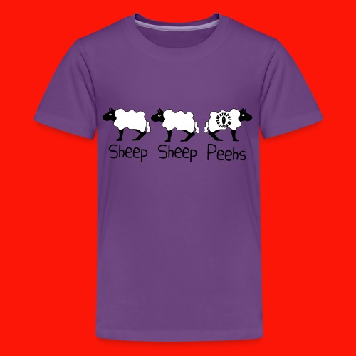Sheep - Sheep - Peehs - Teenage Premium T-Shirt