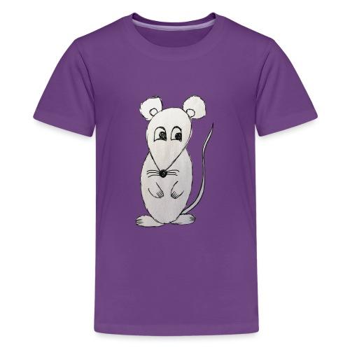 LackyMouse - Teenager Premium T-Shirt