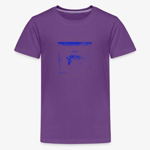 Hyena Blue - Premium-T-shirt tonåring