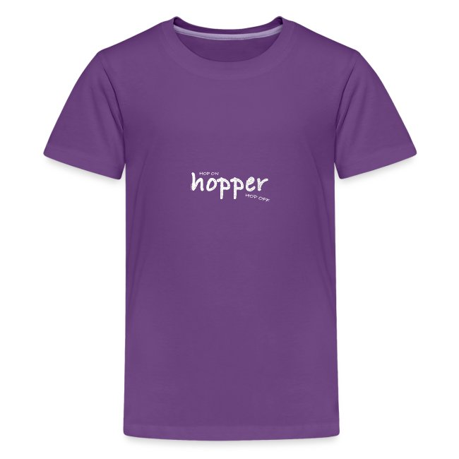 Hoppers Hop On and Off (white)