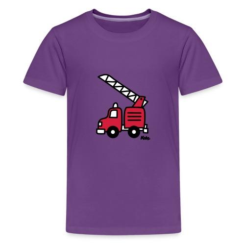 Feuerwehrauto (c) - Teenager Premium T-Shirt
