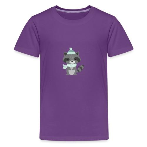 The Raccoon - Maglietta Premium per ragazzi