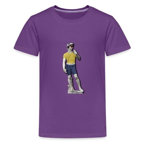 David 2.0 - Maglietta Premium per ragazzi