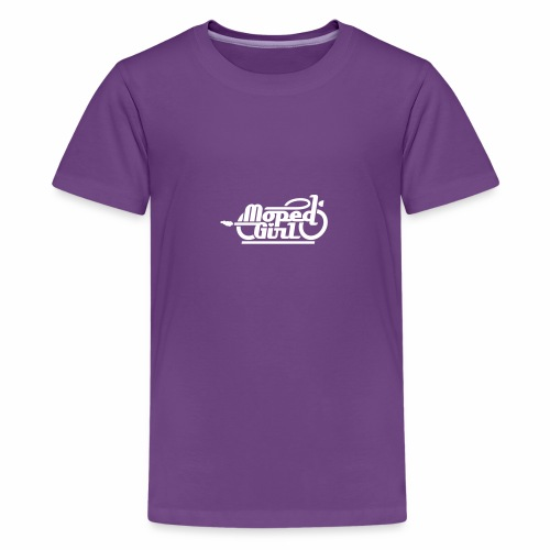 Moped Girl / Mopedgirl (V1) - Teenage Premium T-Shirt
