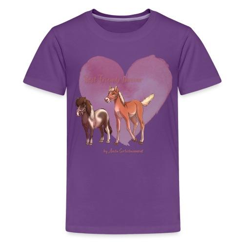 Best friends forever Anita Girlietainment - Teenager Premium T-Shirt