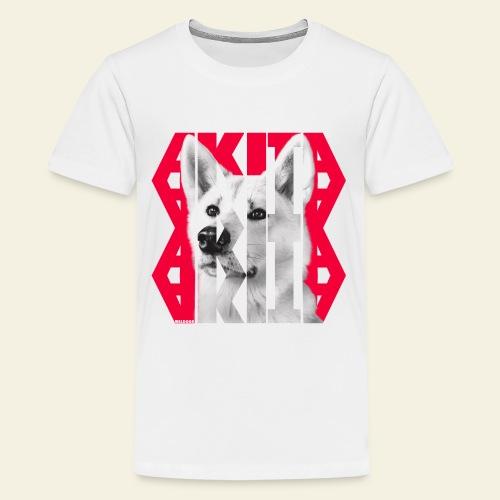 Akita NASSU IV - Teinien premium t-paita