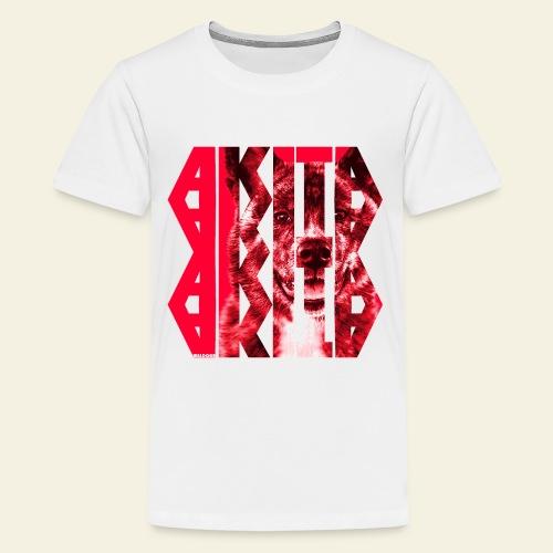 Akita NASSU I - Teinien premium t-paita