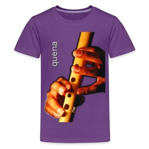 Quena i - Teenage Premium T-Shirt