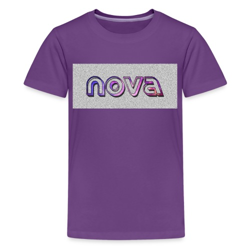Nova T-shirt - Teenage Premium T-Shirt
