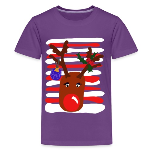 Rudolphine - Teenager Premium T-Shirt