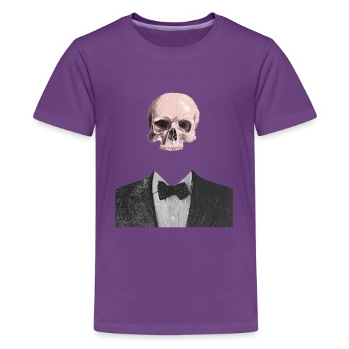 Elegant Skull - Maglietta Premium per ragazzi