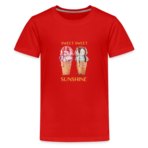 Icecream sweetsweet png - Teenager Premium T-Shirt