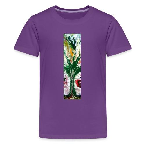 TIAN GREEN Shirts Men - Baum des Lebens - Teenager Premium T-Shirt
