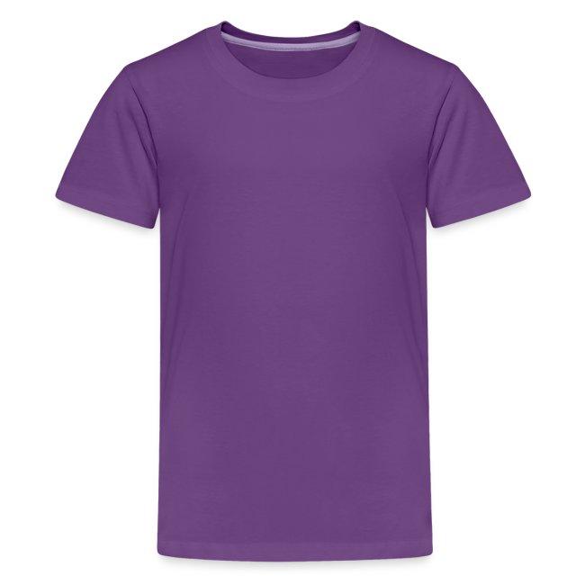 Vorschau: Achtung ich reite Pferde - Teenager Premium T-Shirt