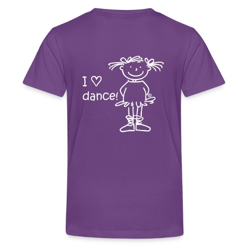 I ♡ dance! - Teenager Premium T-Shirt
