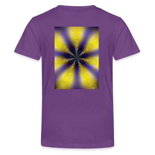 Roundon, Abstract Expressionism,Design 2018 - Teenager Premium T-Shirt
