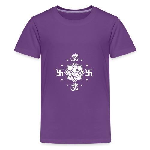 Ganesh - Teenager Premium T-Shirt