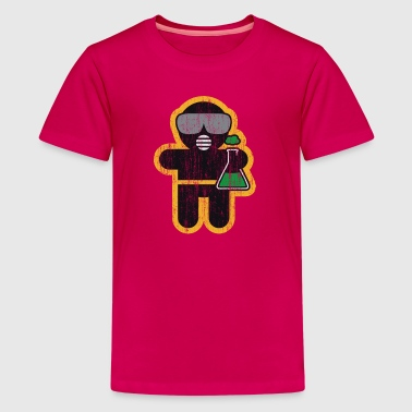Berufbekleidung und Accessoires: der Chemiker - Teenager Premium T-Shirt