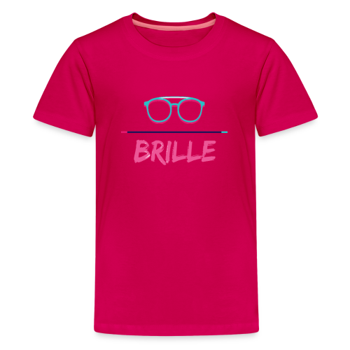BRILLE - Teenager Premium T-Shirt