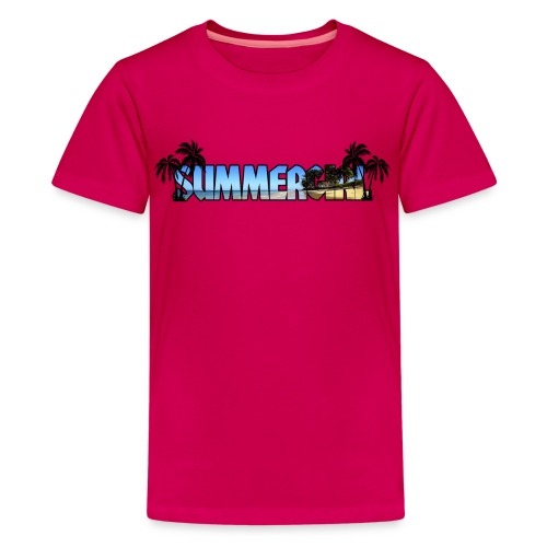 Summergirl - Teenager Premium T-shirt