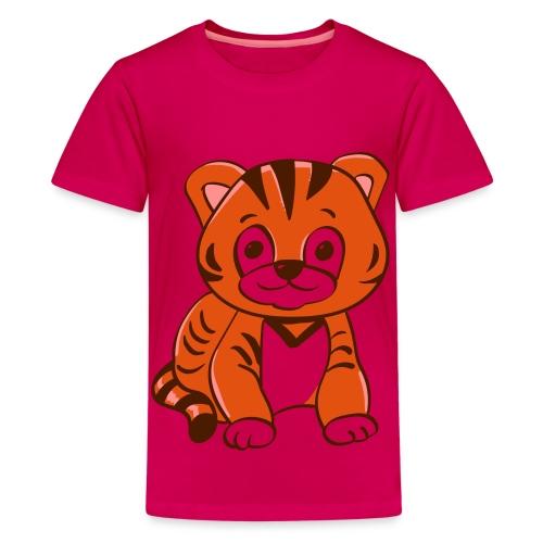 Bébé tigre orange et noir - T-shirt Premium Ado