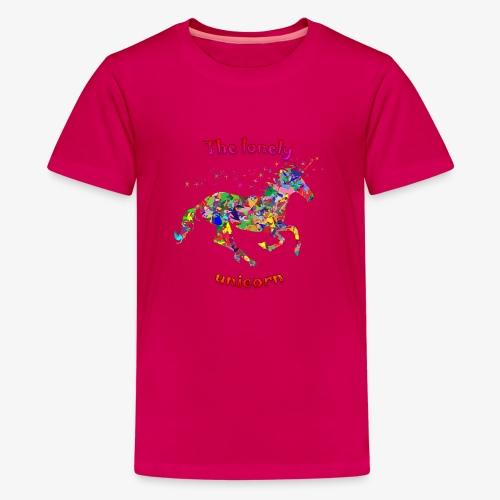 Lonely Unicorn - Teenager Premium T-Shirt