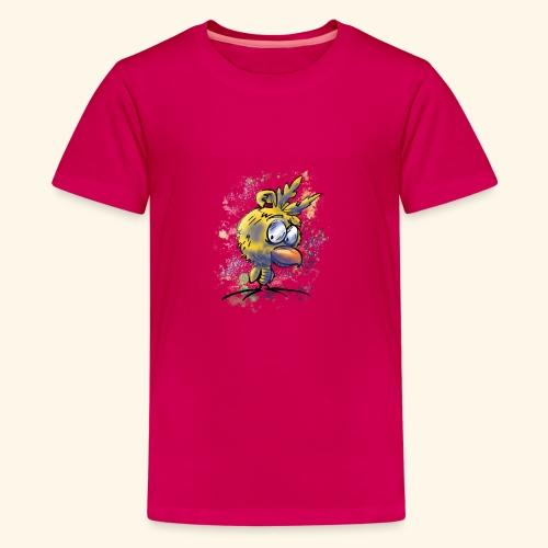 vogeltshirt volledig gekleurd artwork - Teenager Premium T-shirt