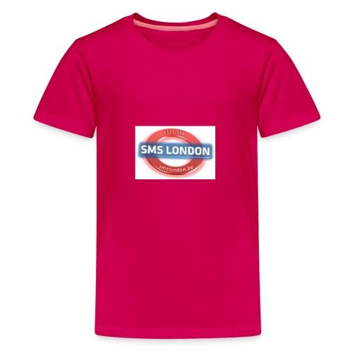 SMS London logo - Teenager Premium T-shirt
