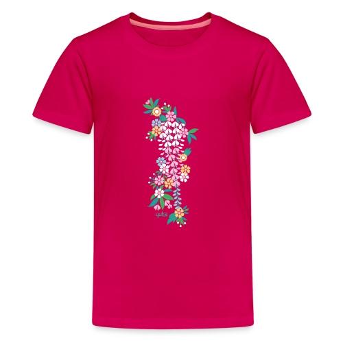 yuka cherry blossom2 - Teenager Premium T-Shirt