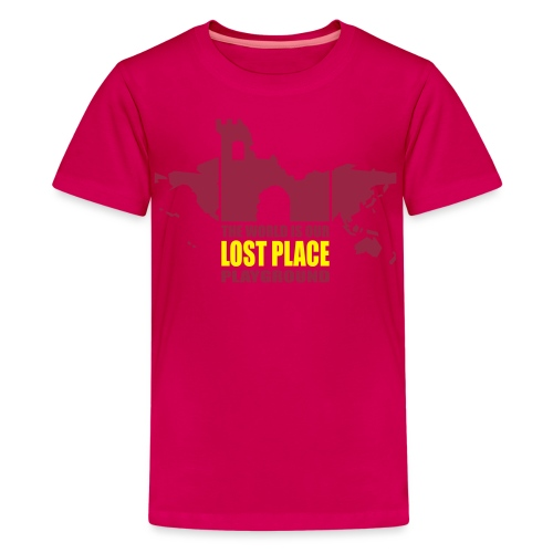 Lost Place - 2colors - 2011 - Teenager Premium T-Shirt