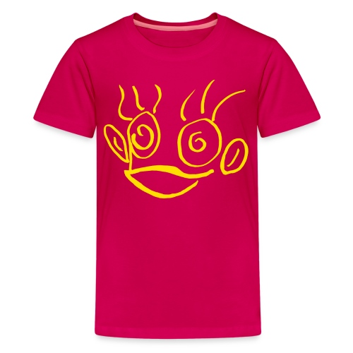 hannah monkey - Teenage Premium T-Shirt