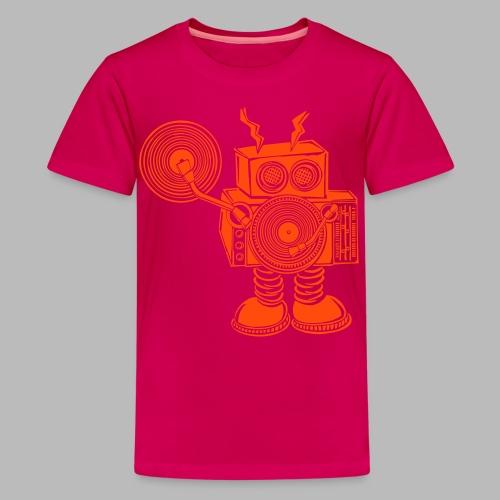 Hey Mr DJ ✴CUSTOMISABLE DESIGN✴ - Teenage Premium T-Shirt