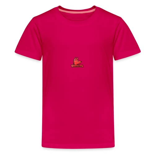 CrimsonAura Logo Merchandise - Teenage Premium T-Shirt