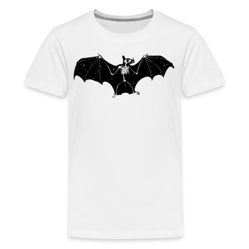 Bat skeleton #1 - Teenage Premium T-Shirt
