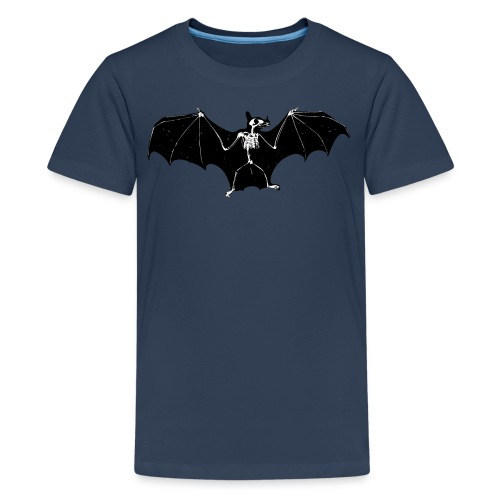 Bat skeleton #1 - Teenage Premium T-Shirt
