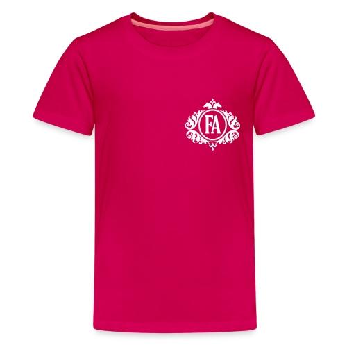 FAutan_text - Premium-T-shirt tonåring